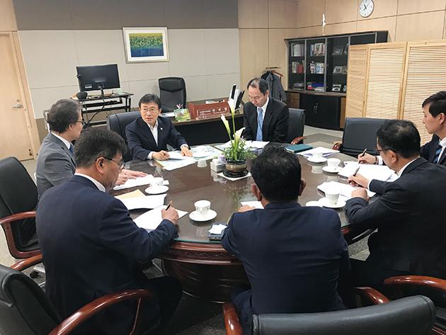 김종석 협회장, 보건복지부 차관 면담